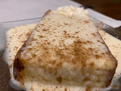 El Mexicano: bizcocho con dulce de leche