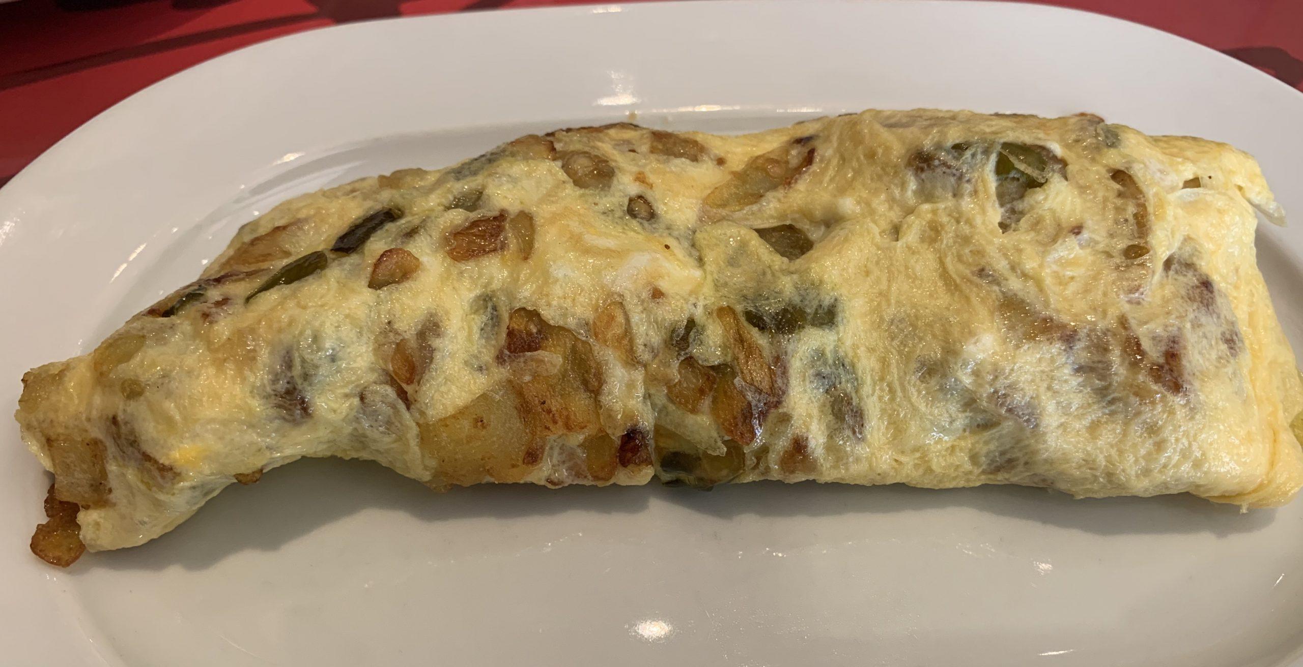 Tortilla de patata del Hawai