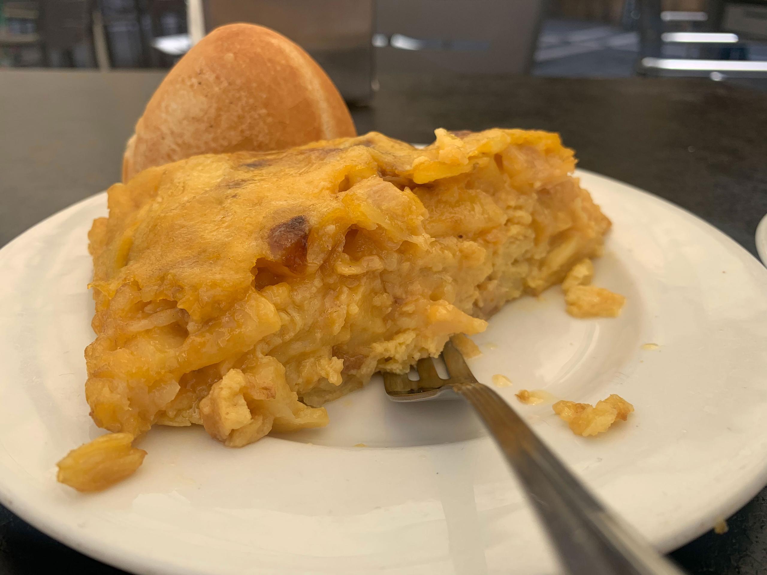 Pintxos en Pamplona: Tortilla de patata del Elizalde