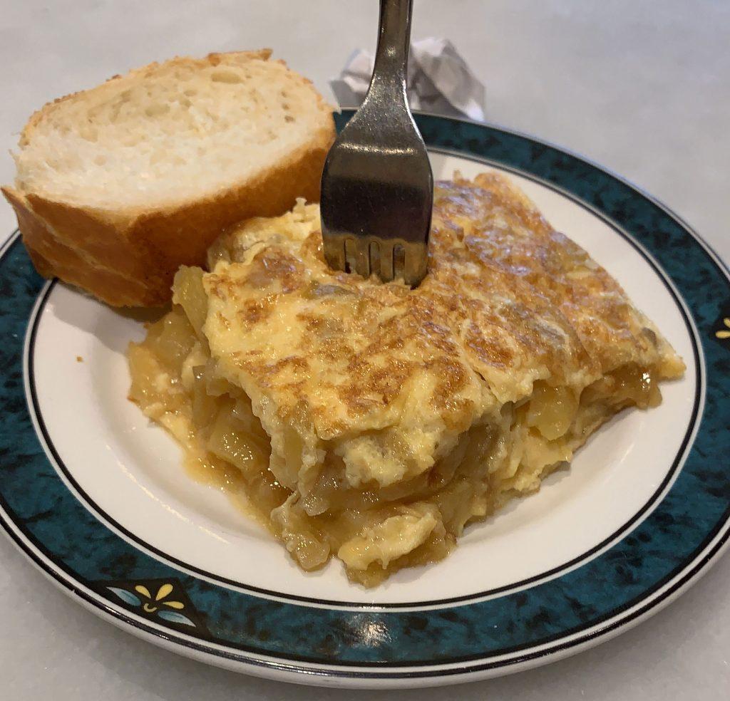 Tortilla de patata de La Navarra