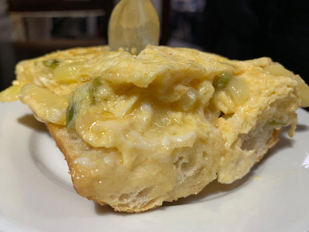 Una de las mejores tortillas de Pamplona, Zanpa