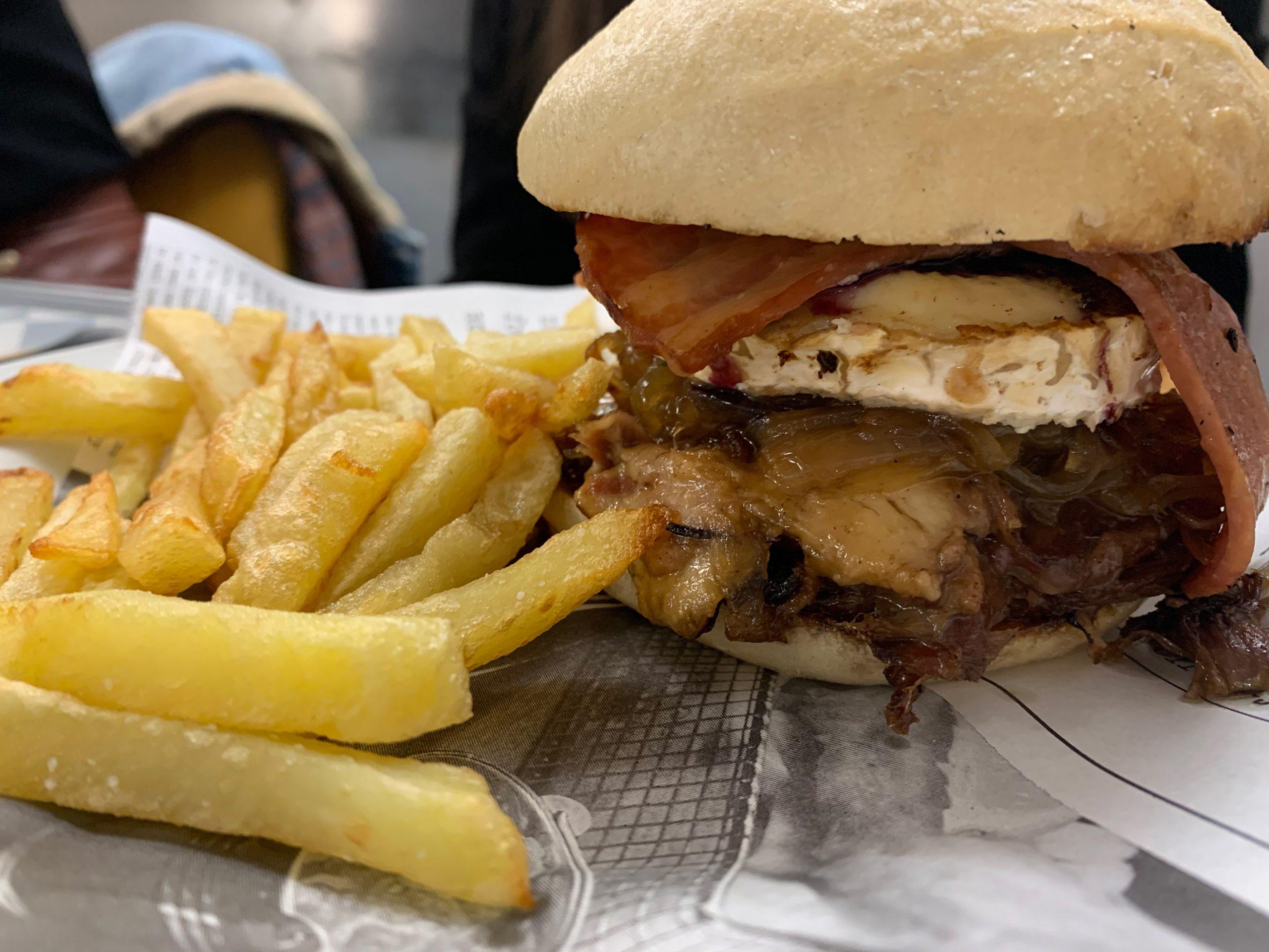 Manabamate: hamburguesas para el enamorado