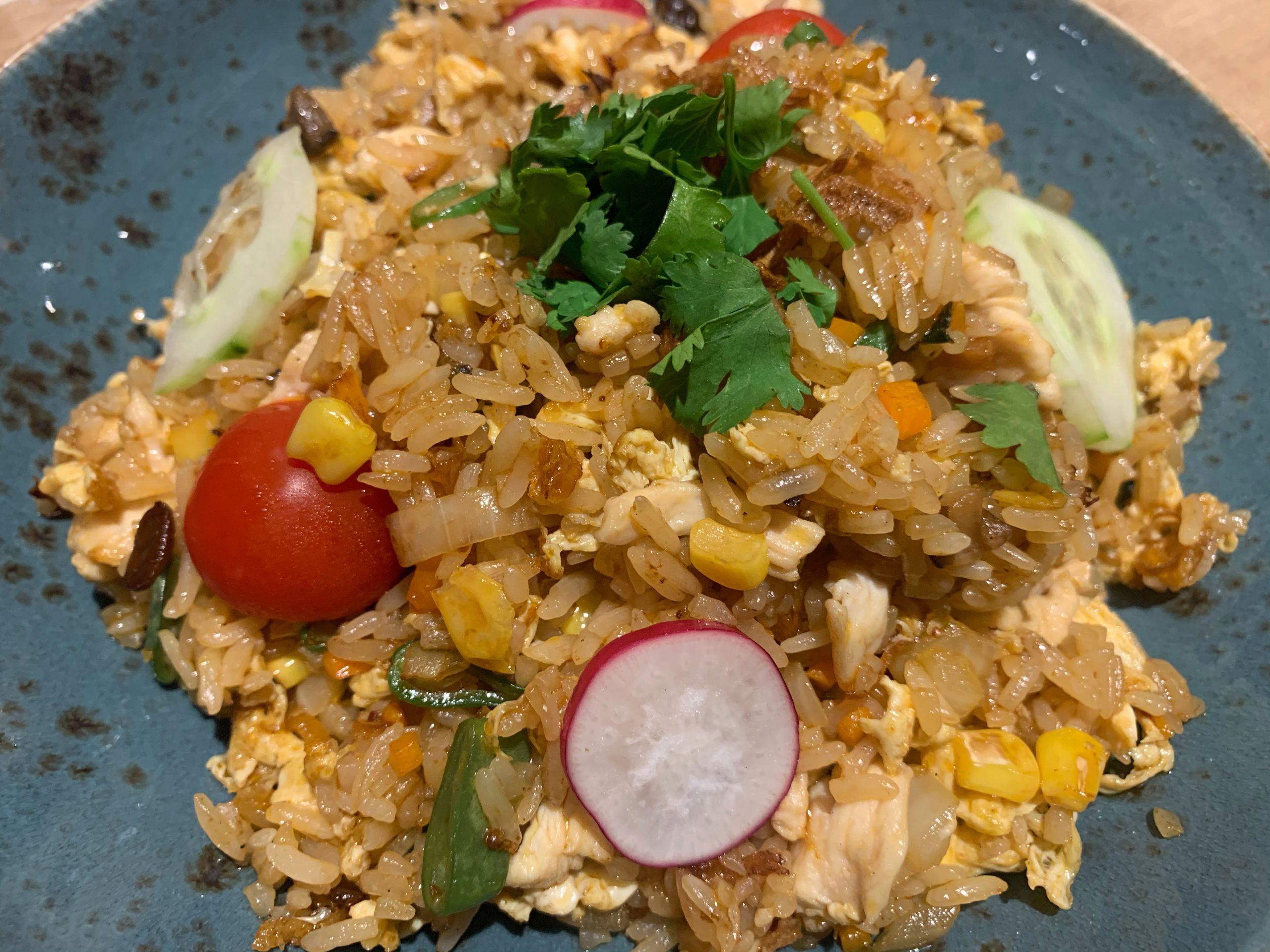 Arroz thai picante