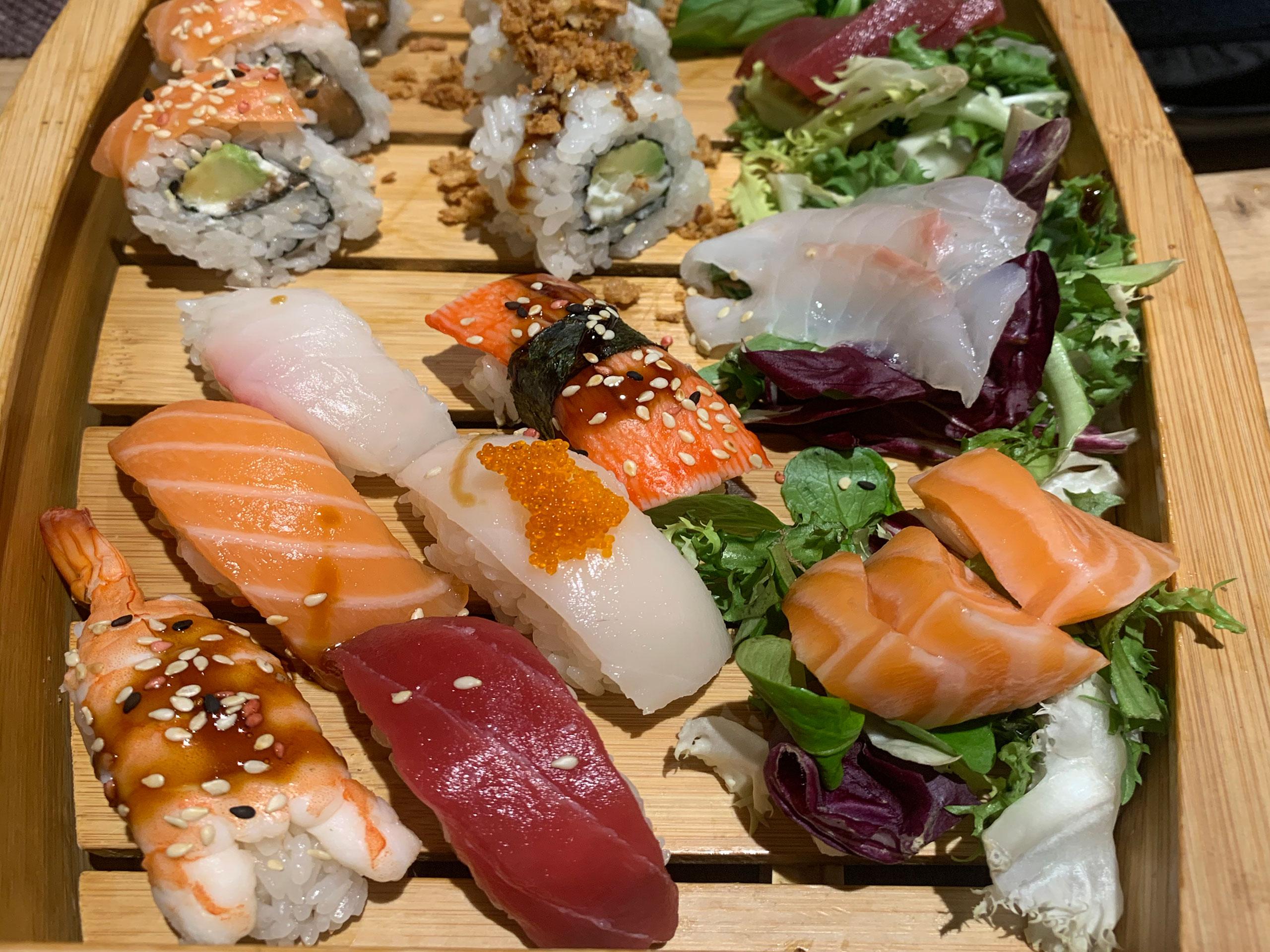 Restaurante Pattaya: uno de los mejores sushi de Pamplona