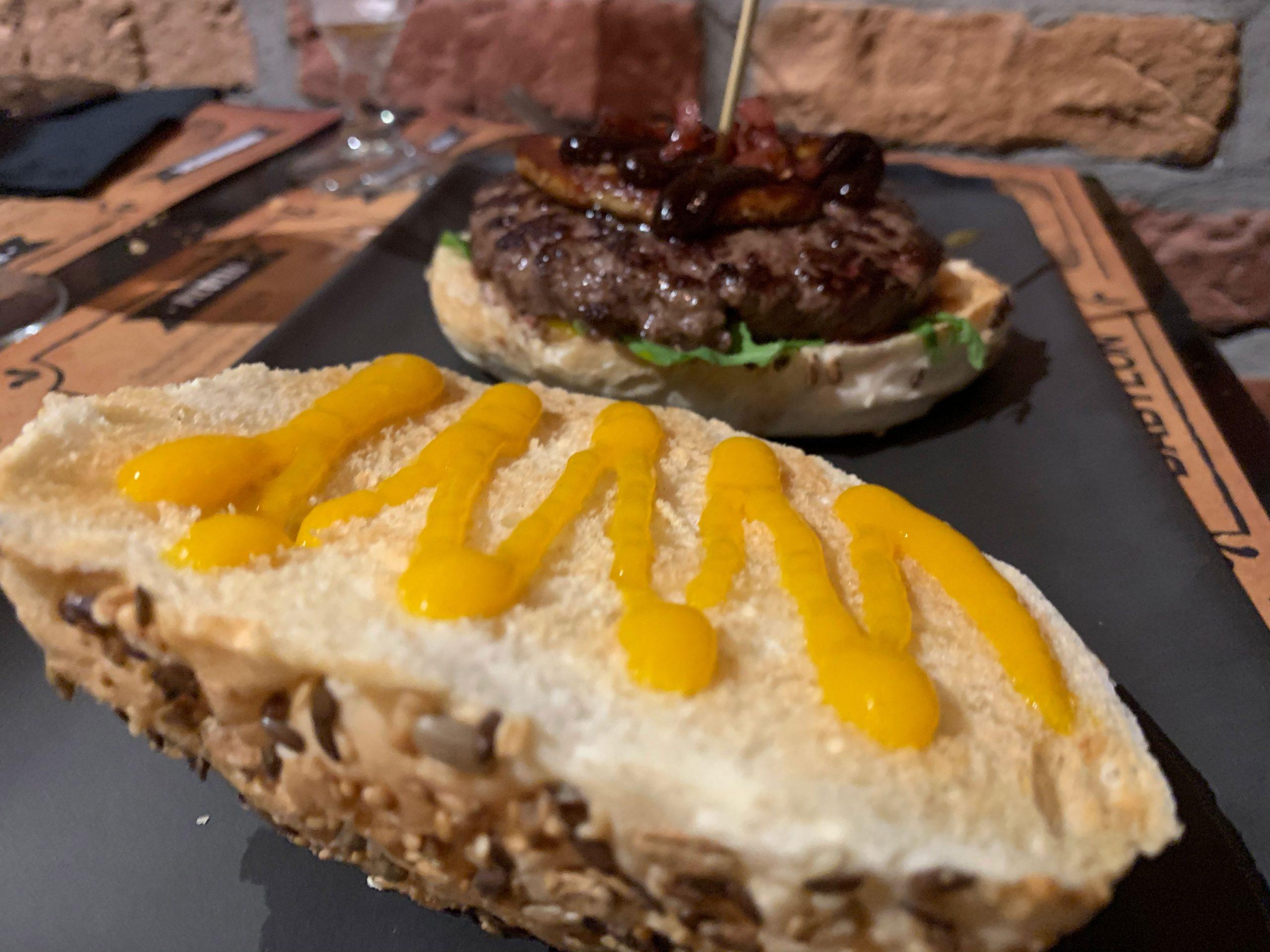 Cervecería Babylon: hamburguesa de solomillo