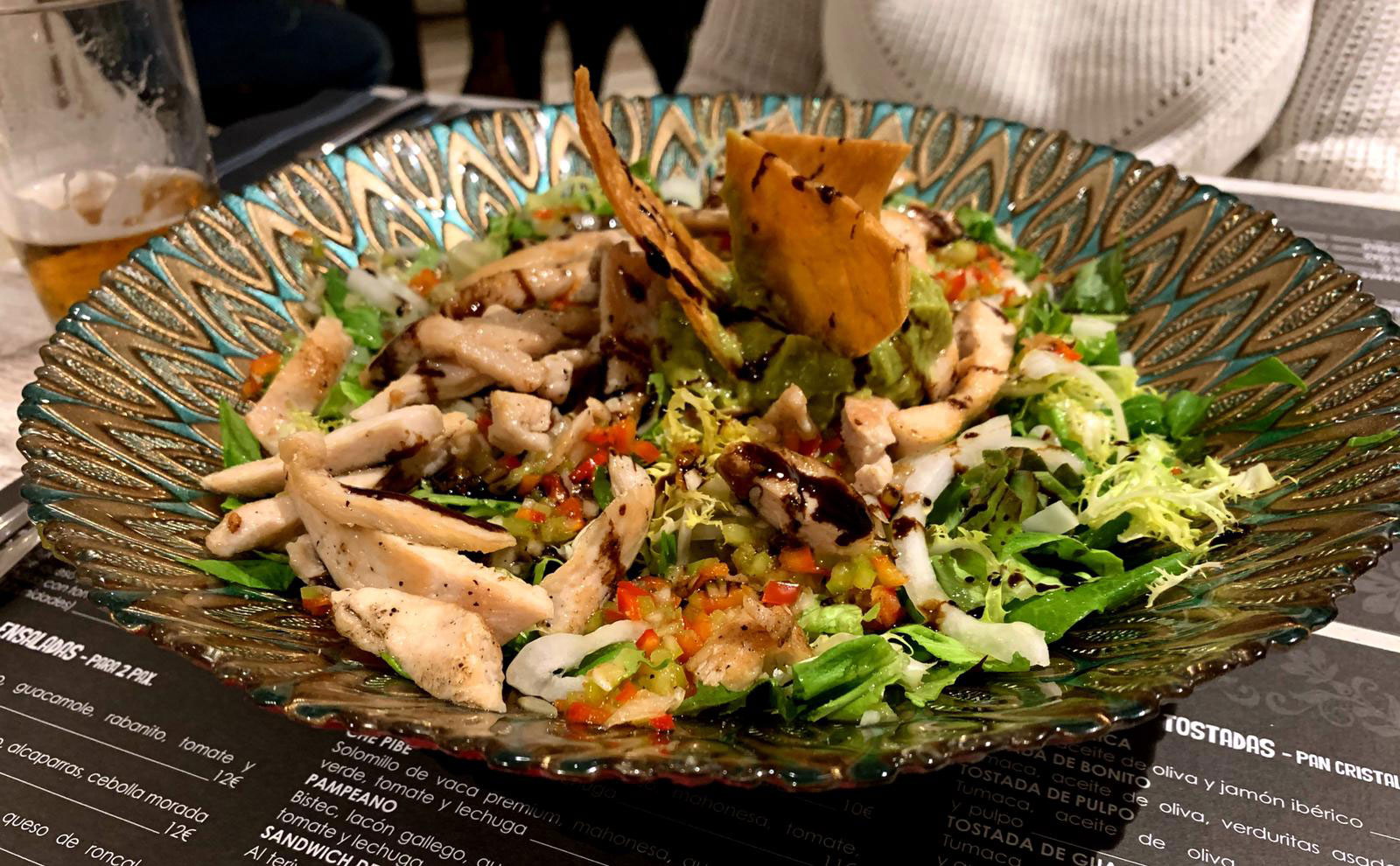 La Loli: Ensalada templada de pollo