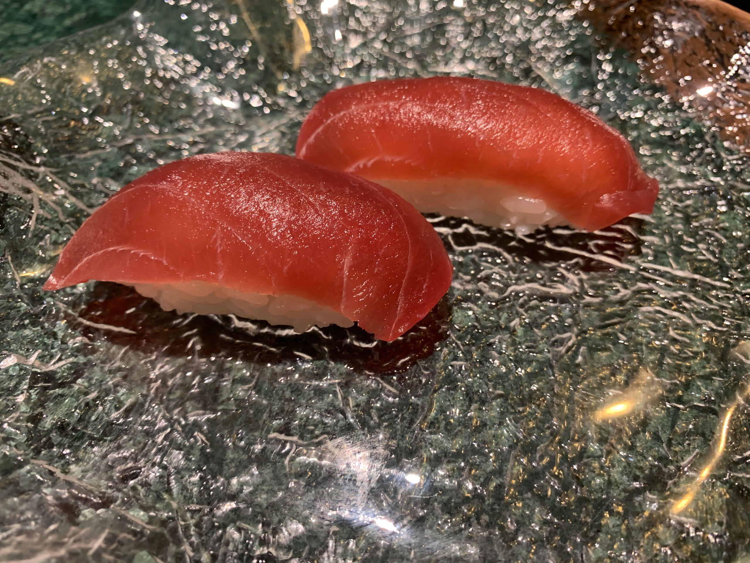 Restaurante Koku: nigiri de atún