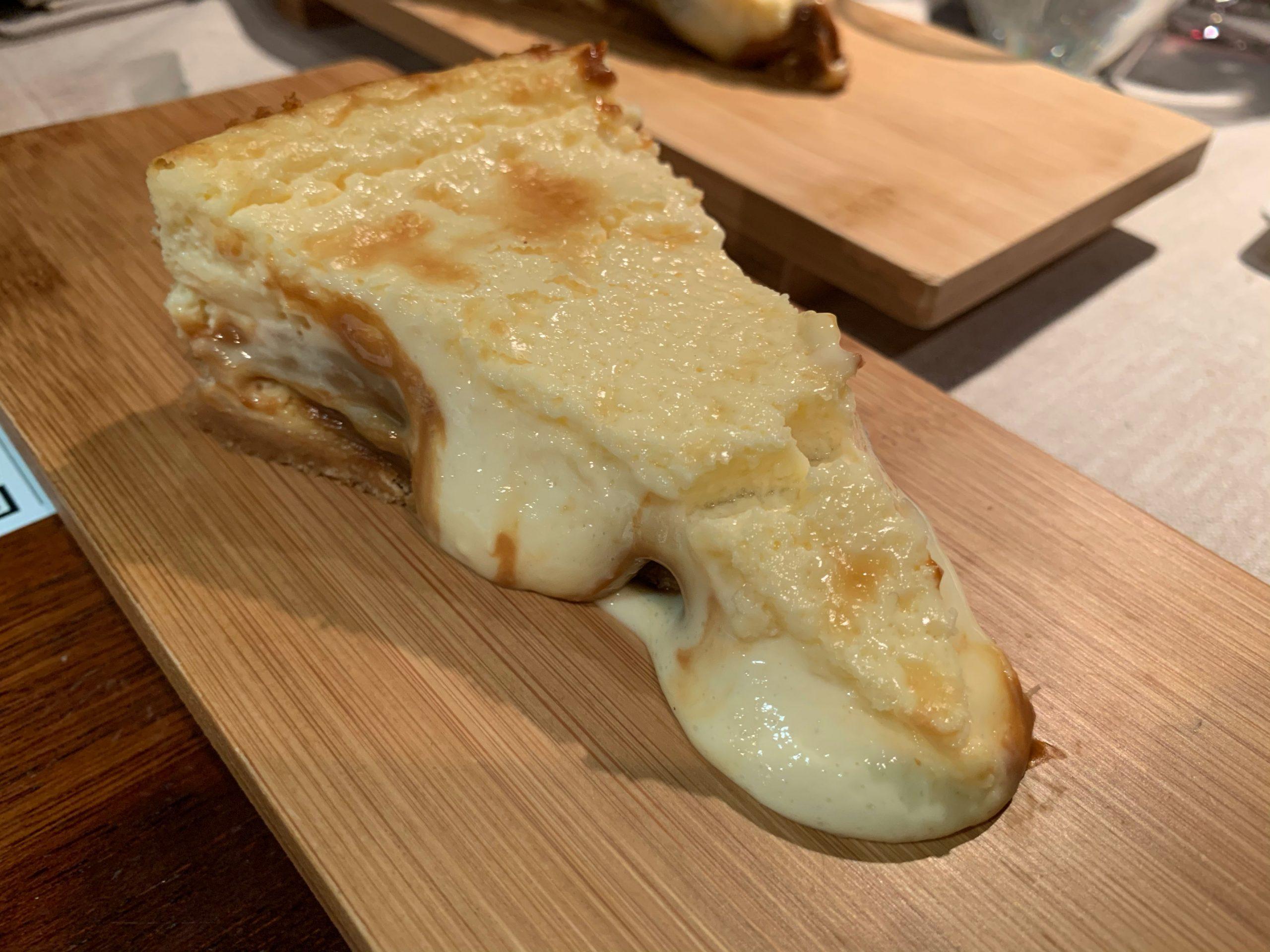 """El Merca'o: La tarta de queso más golosa """"con dulce de leche"""""""