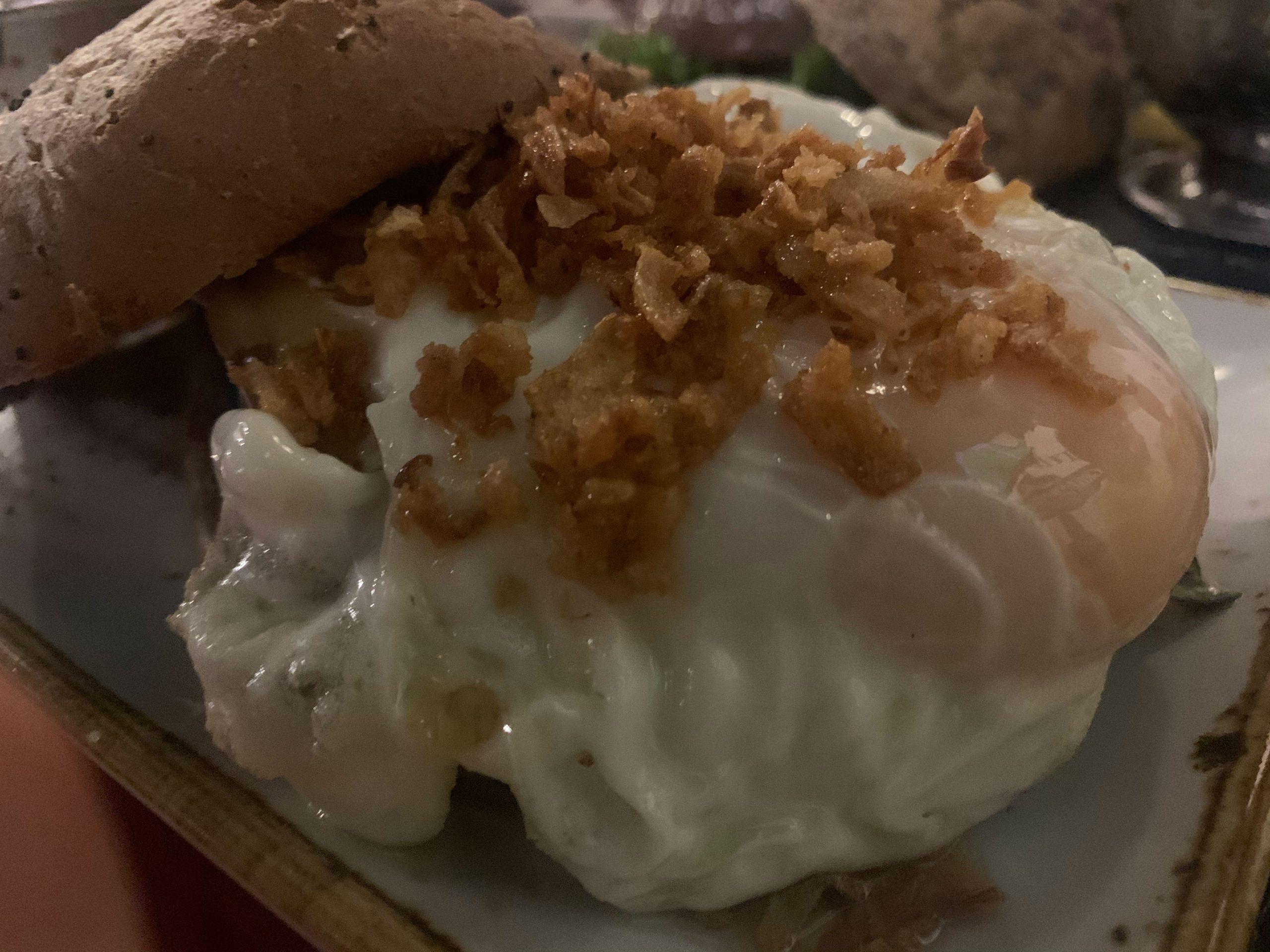 Hamburguesa de huevo