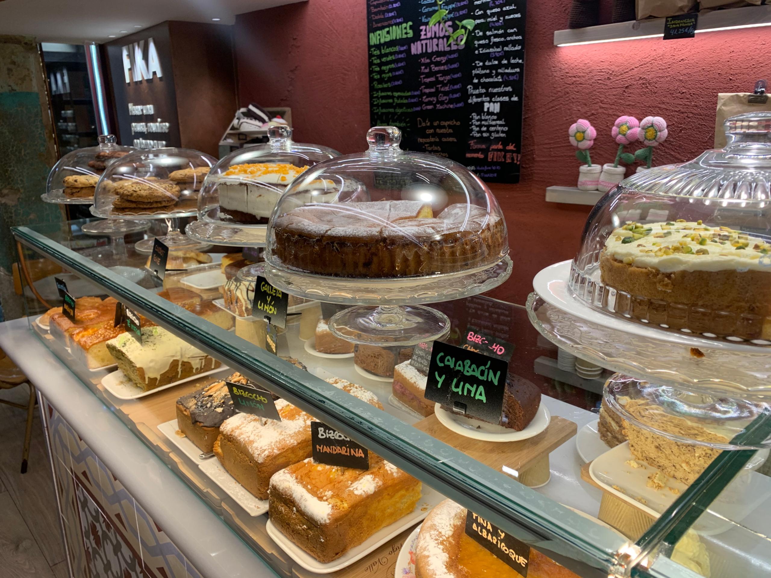 Café Fika: el placer en un escaparate