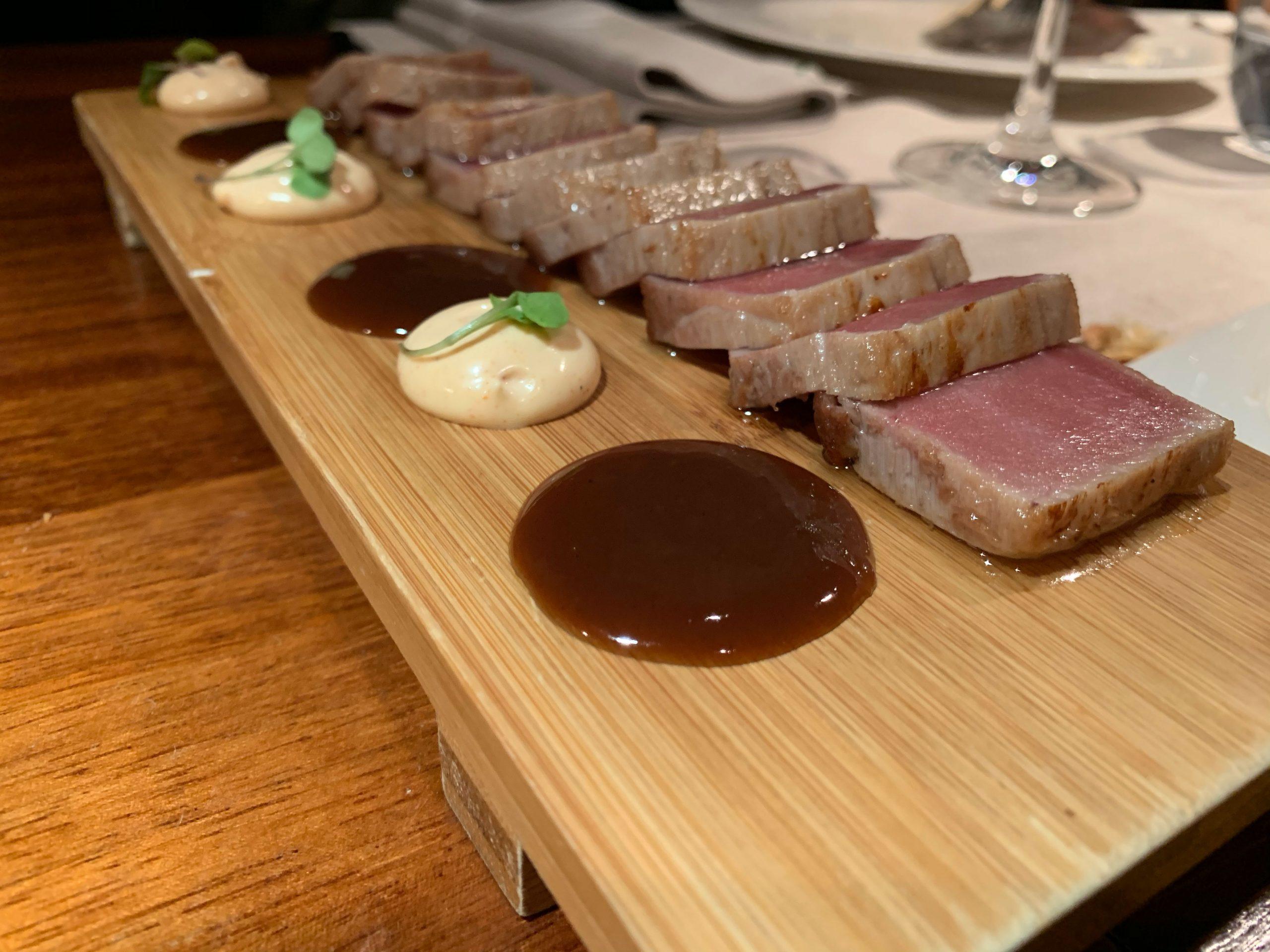 El Merca'o: Sashimi de atún